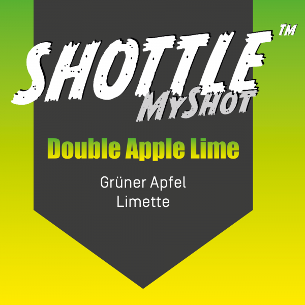 SHOTTLE™ MyShot - Double Apple Lime