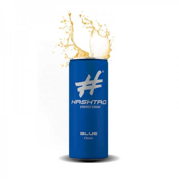 #Hashtag - BLUE Classic Energy Drink (250ml Dose)