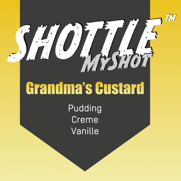 SHOTTLE™ MyShot - Grandma`s Custard